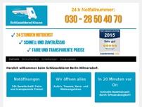 Schlüsseldienst Wilmersdorf - 24h-Notdienst